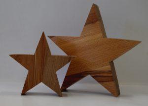 Stern mittel und klein